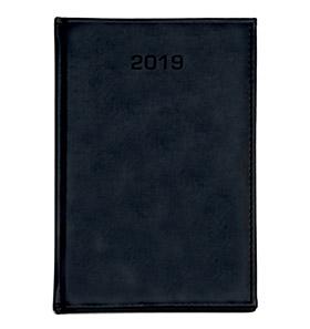kalendarz książkowy a4 na 2019 czarny