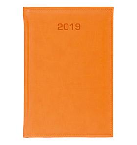 kalendarz książkowy a4 na 2019 kolor pomarańczowykalendarz książkowy a4 na 2019 kolor pomarańczowy