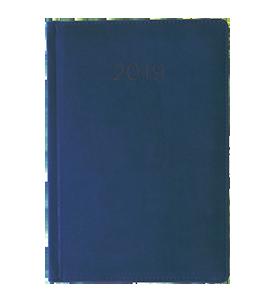 kalendarz książkowy 2019 firmowy niebieski
