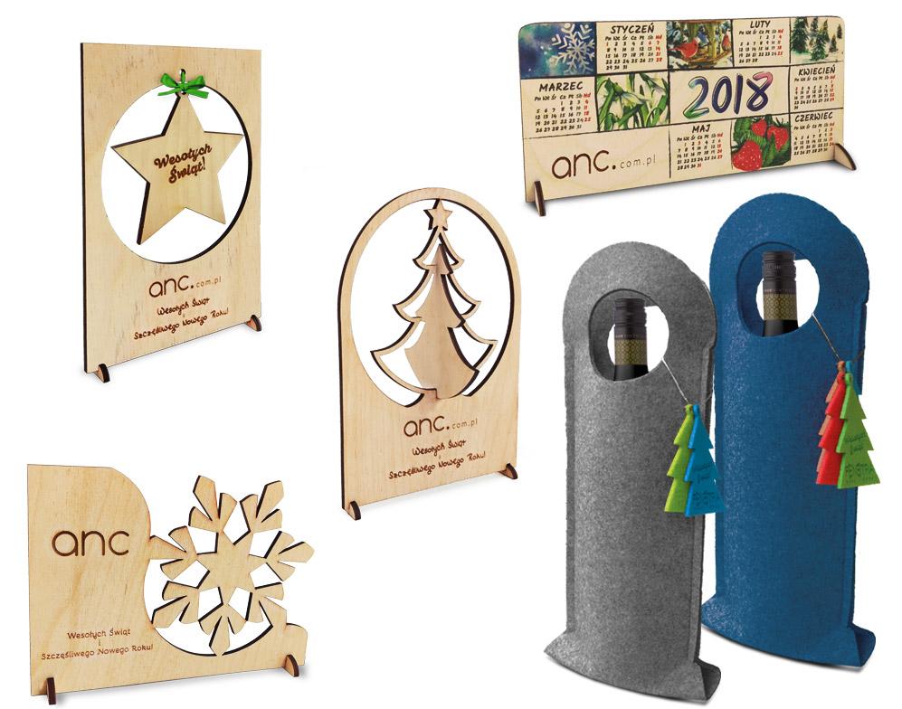 personalizowane upominki świąteczne z drewna