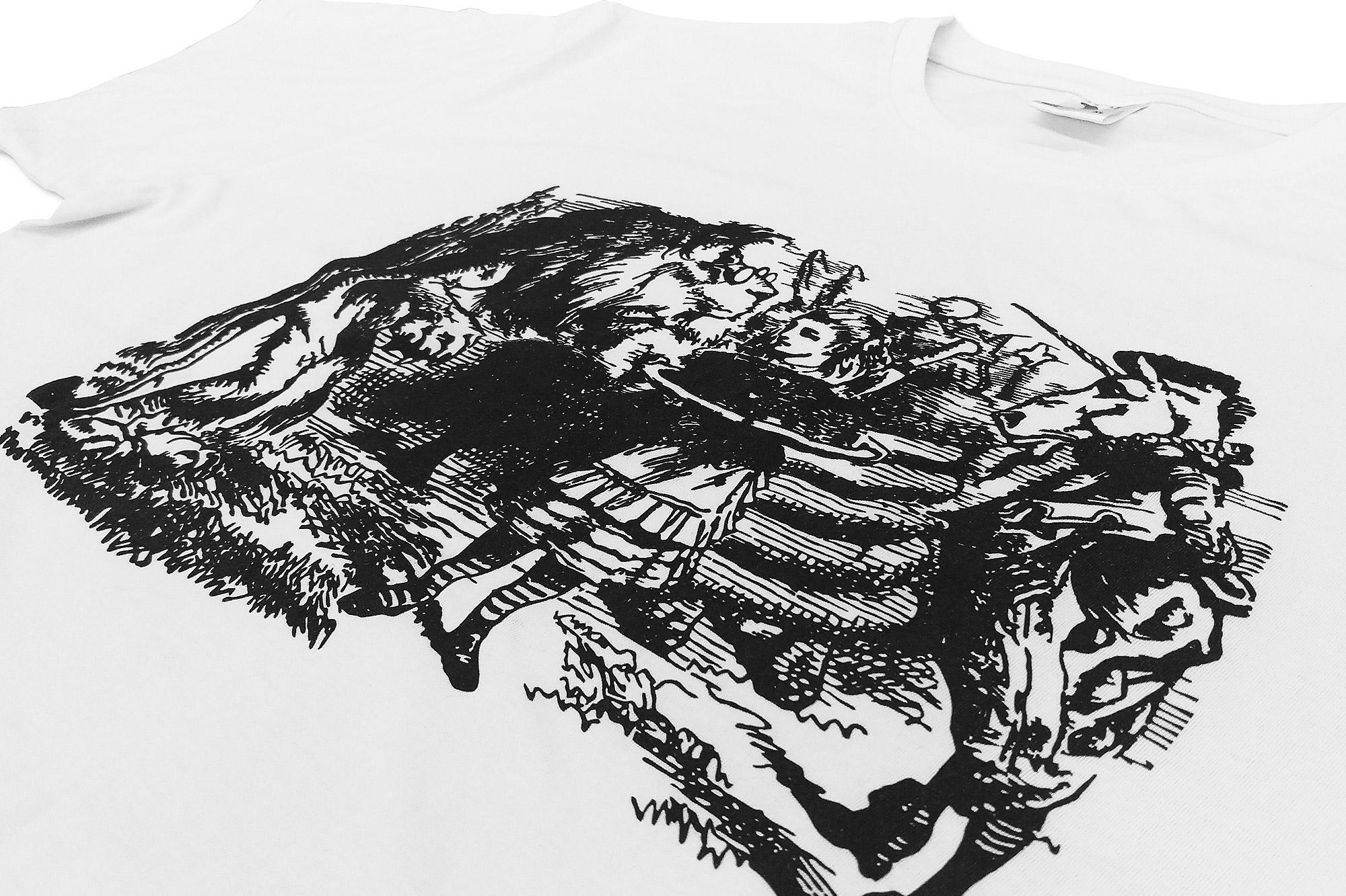 druk na bawełnie, zadrukowanie koszulki