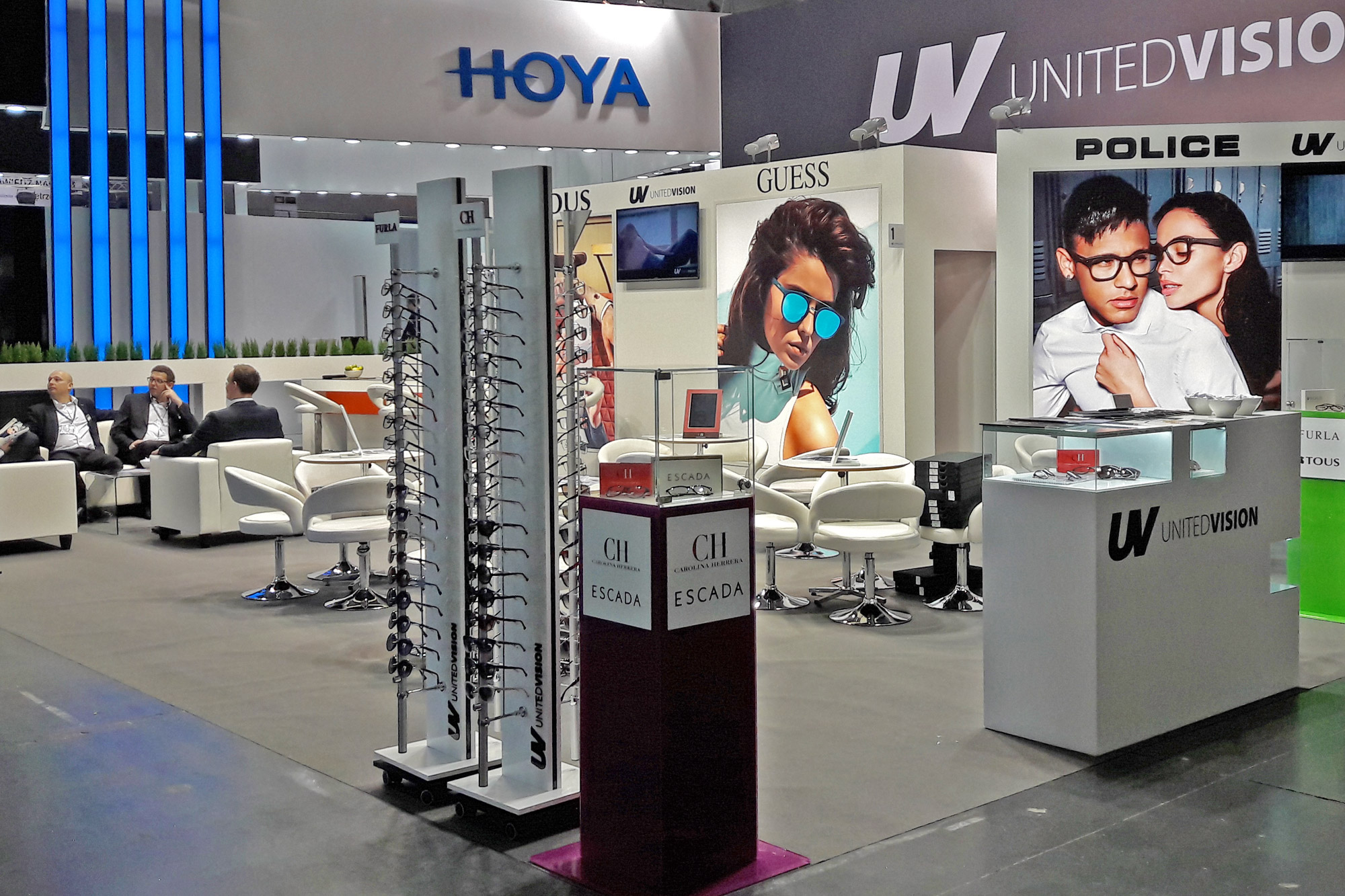 ekspozytor, stojak na okulary, projekt anc