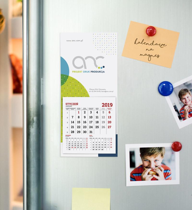 kalendarze magnetyczne na lodówkę 2019 foto kalendarze magnetyczne