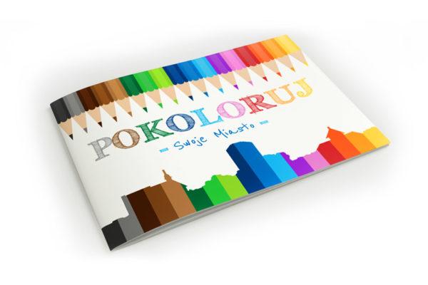 kolorowanka miasta reklama dla dzieci gmina powiat miasto pokoloruj swoje miasto