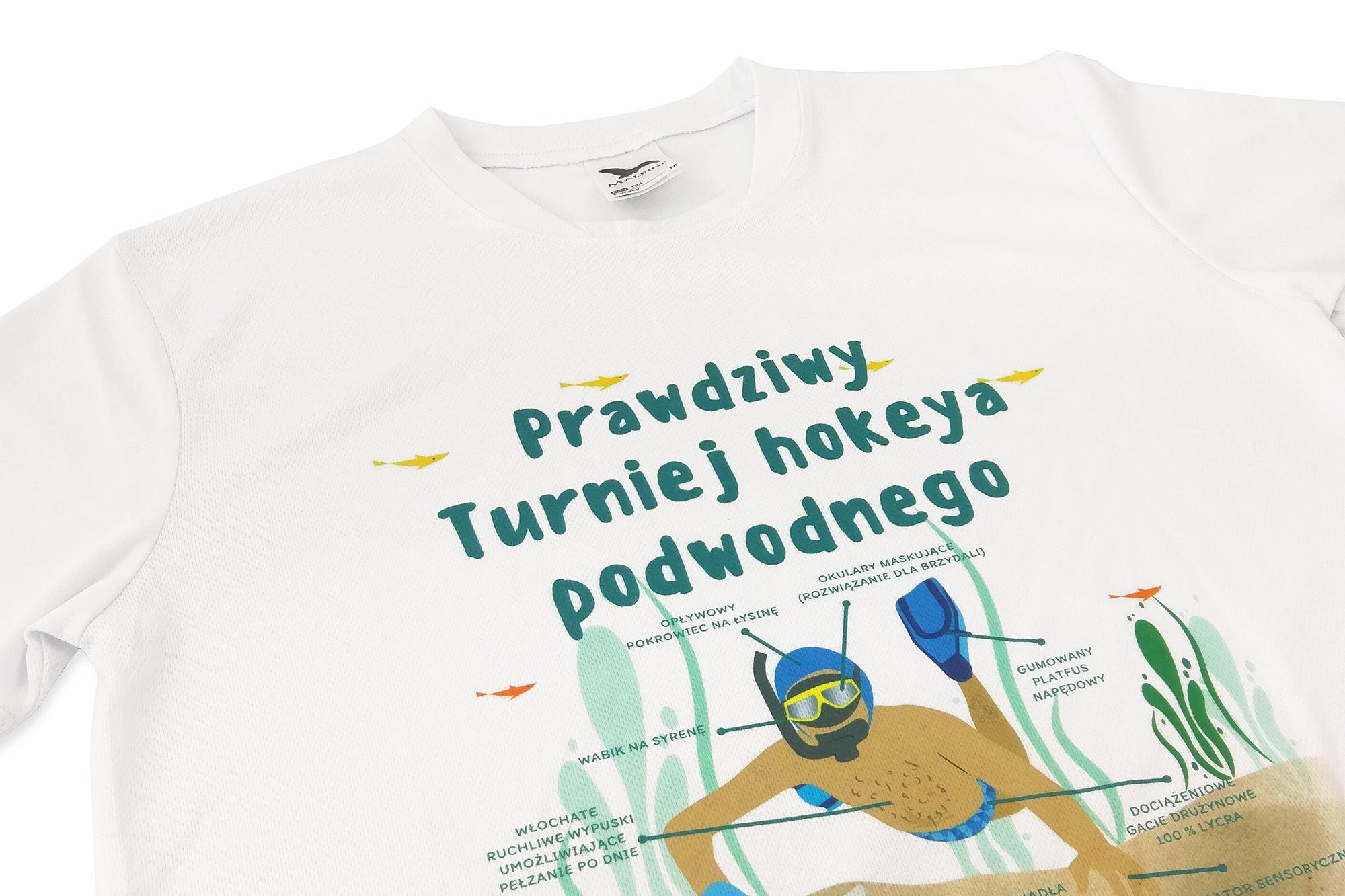 znakowanie ubrań, koszulki sportowe z nadrukiem