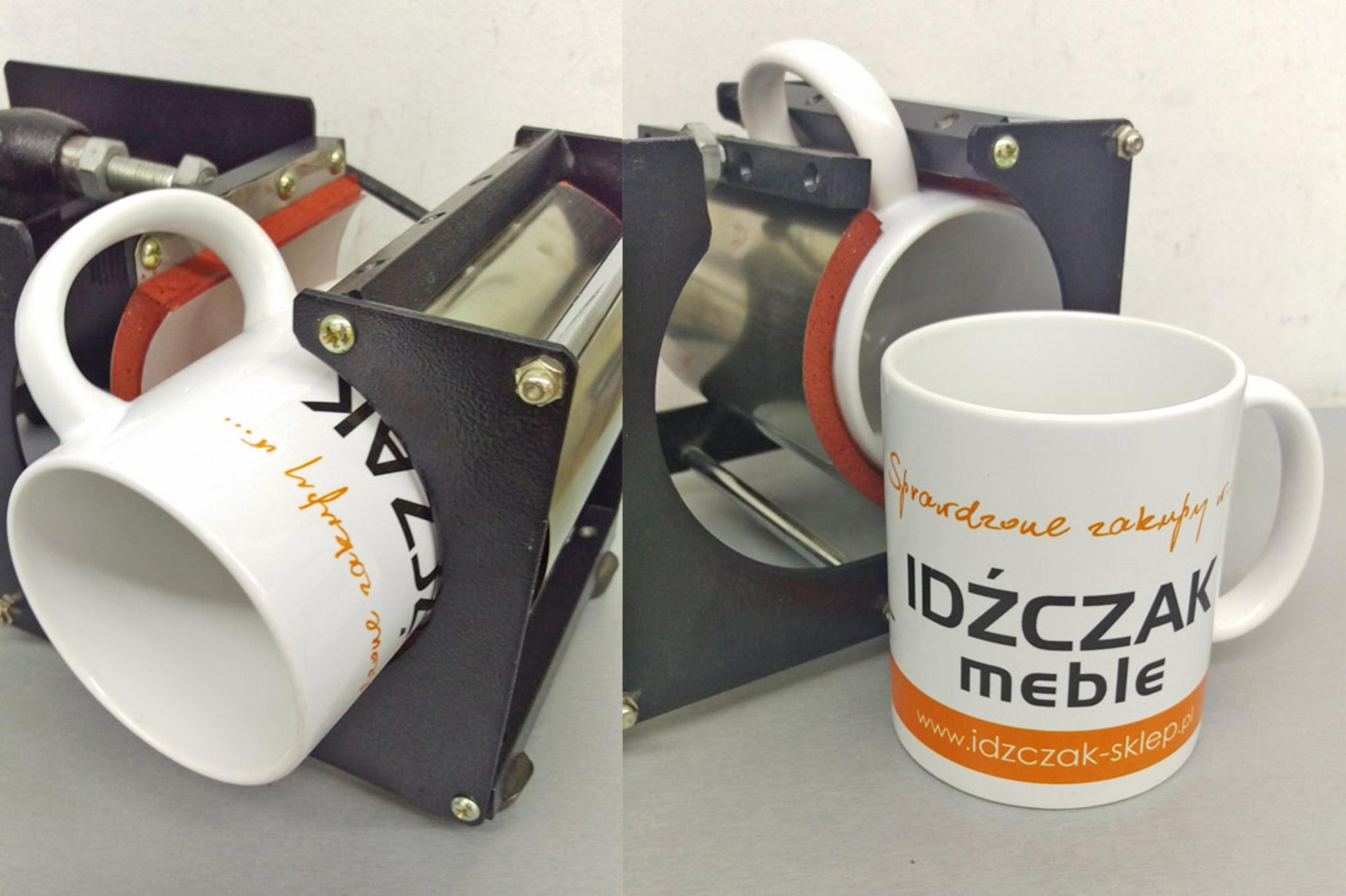 Ceramiczne kubki firmowe w pełni do zadrukowania