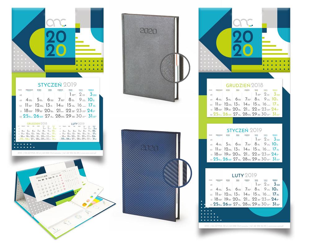 kalendarze firmowe 2020